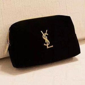 Ysl velvet Makeup Cosmetic bag VIP gift